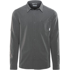 Columbia Triple Canyon LS Shirt Men shark heather
